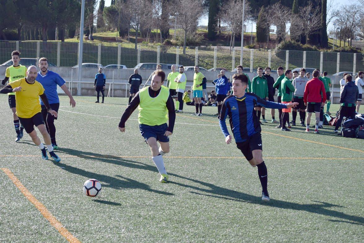 Torneo solidario madrid kasak navidad futbol f7 business sports