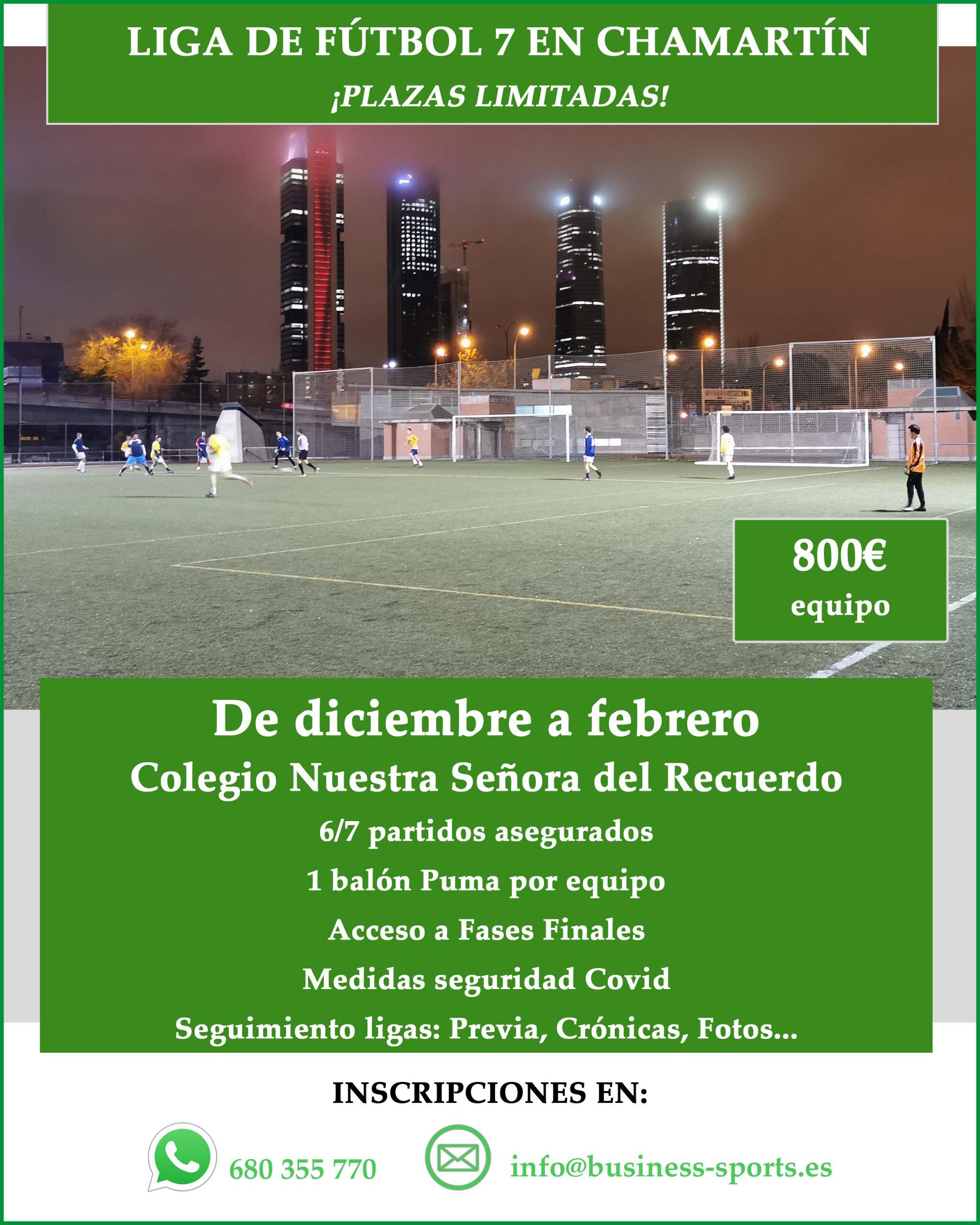 Liga Fútbol Recuerdo 2020/21